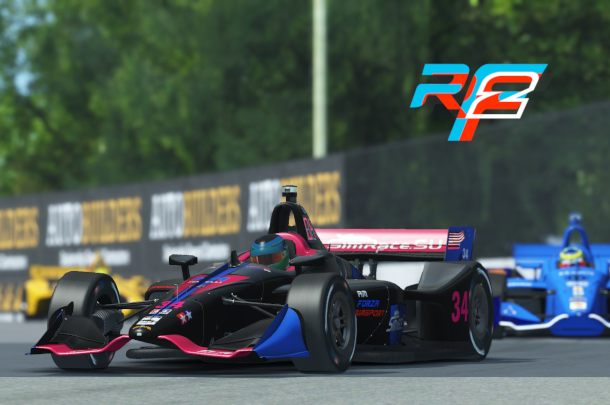 VRC Indycar 2021 - Round 2 - Detroit Belle Isle