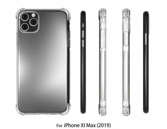 Чехол для iPhone 11 Pro подтверждает новый дизайн