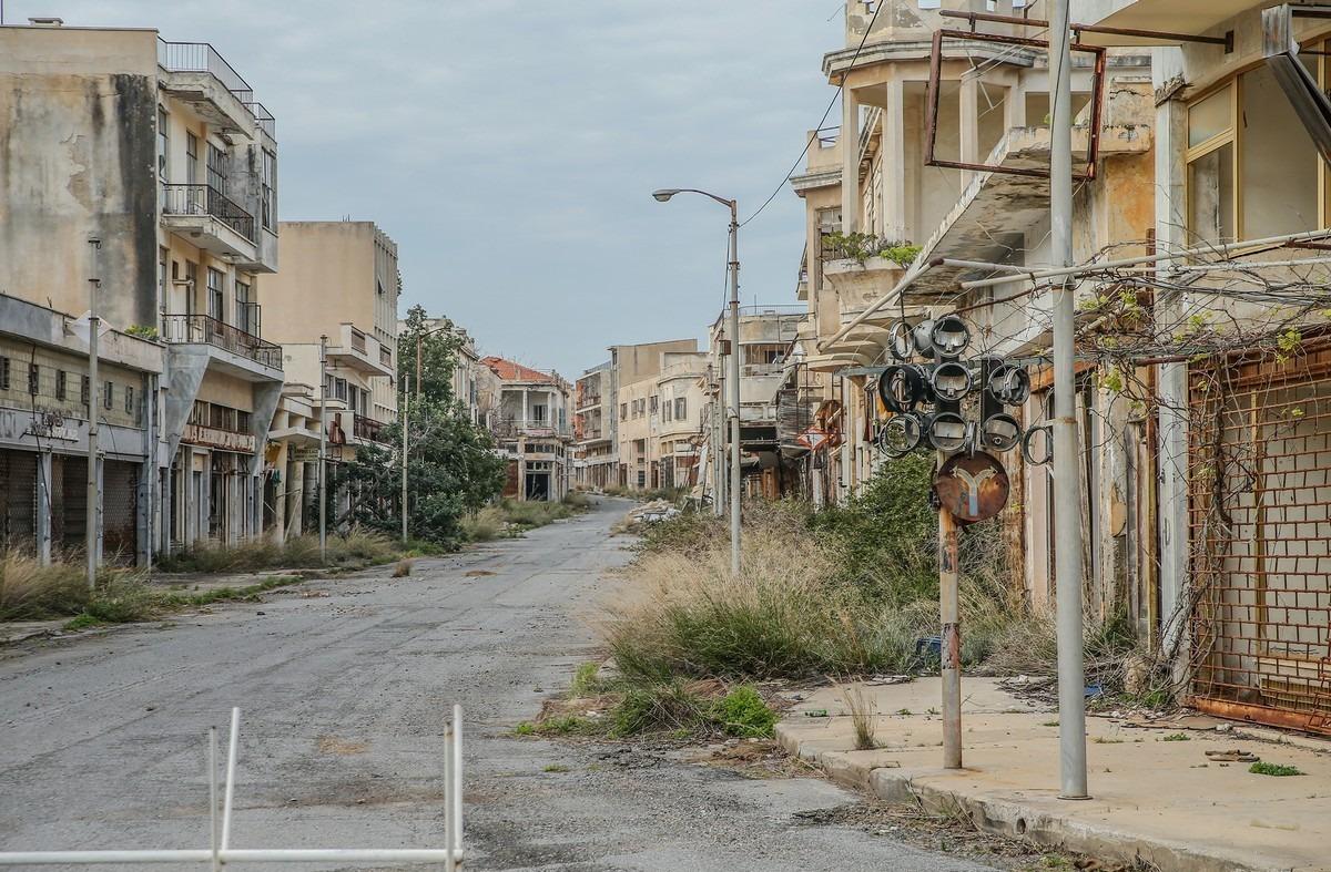 Город призрак Вароша Кипр