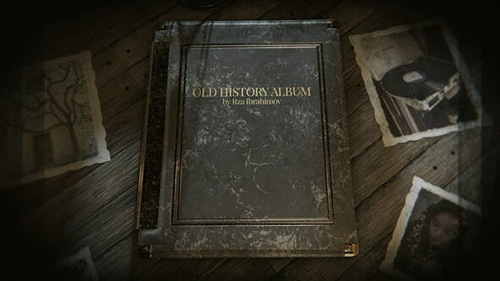 Old History Album Cinematic Opener 2 30256371 - Project for After Effects (Videohive)