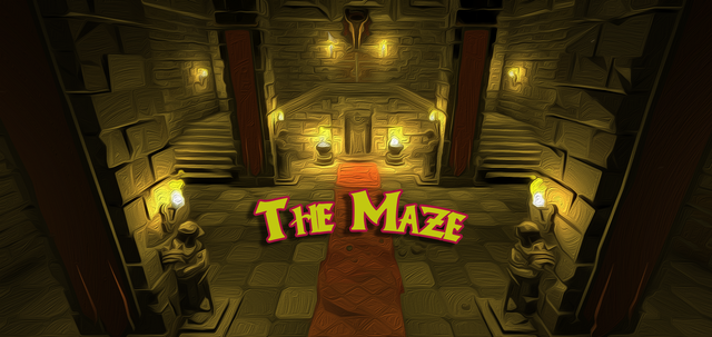 Maze-Title-Screen