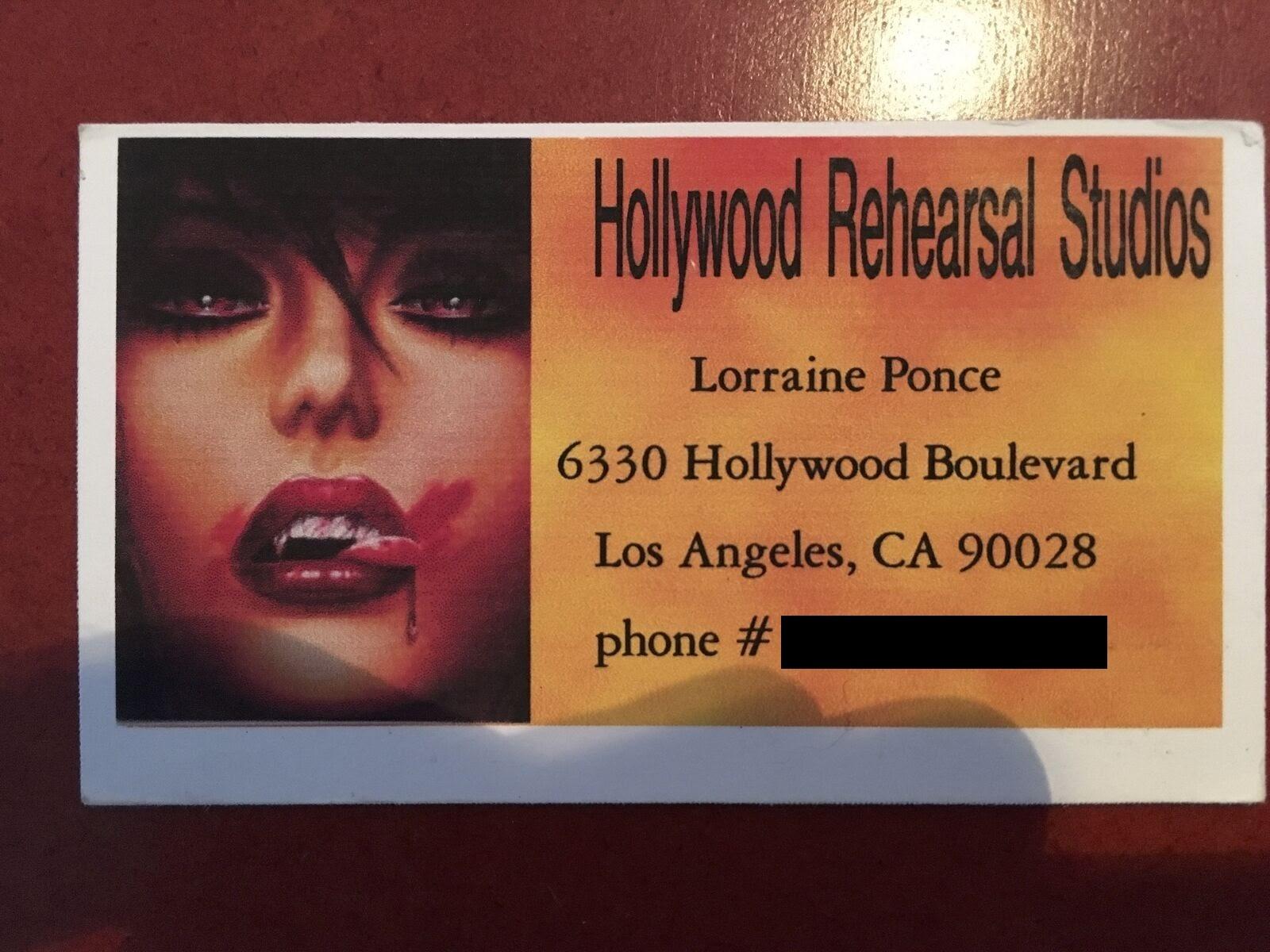 Lorraine Business Card
