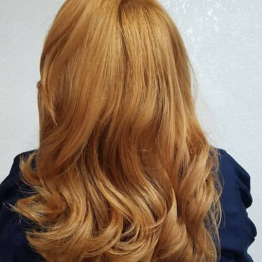 True Strawberry Blonde-strawberry-styled-hair