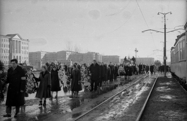 Dyatlov pass funerals 9 march 1959 16