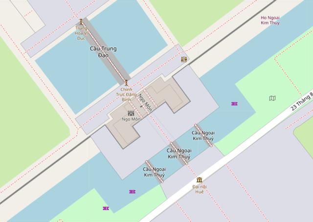 Meridian Gate on OSM
