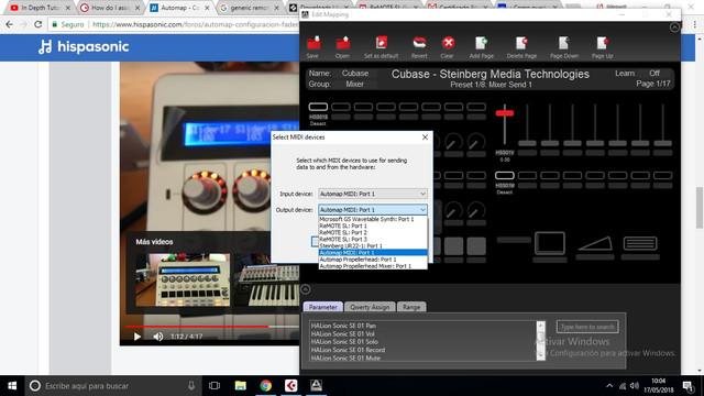 17052018 Configuracion Faders Novation Map Editor 03