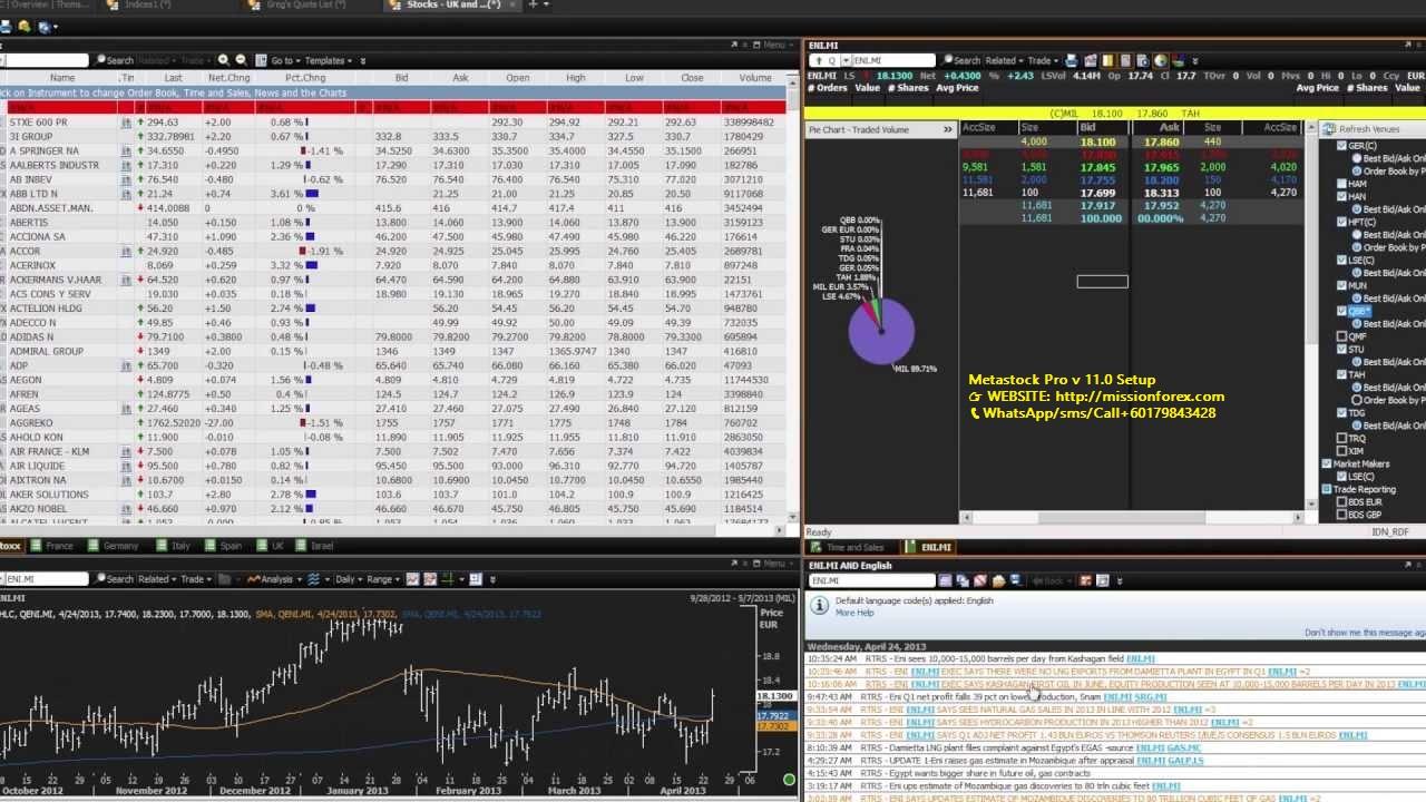 Metastock Pro v 11.0 Setup +  Key