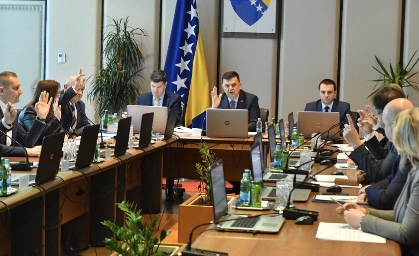 NIŠTA OD IMENOVANJA: Nova blokada u Vijeću ministara, HDZ srušio dnevni red