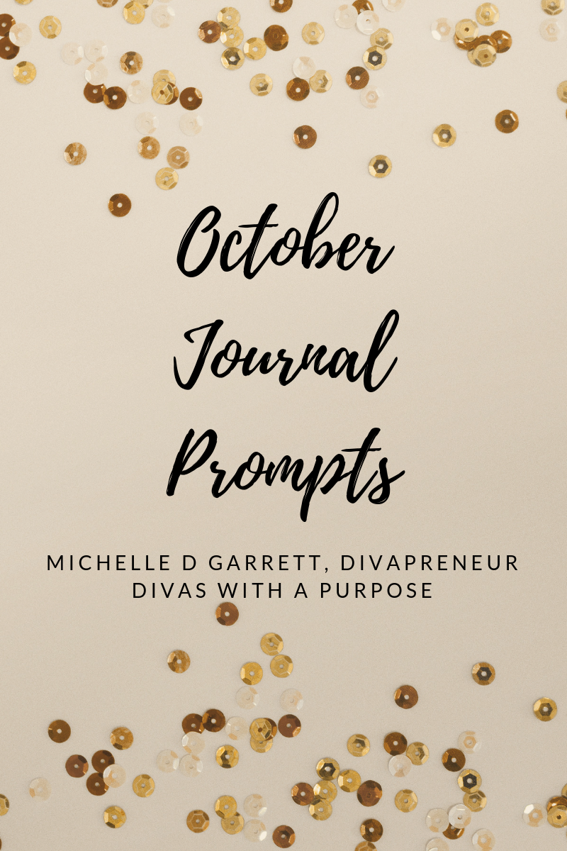 October Journal Prompts to use for family and business