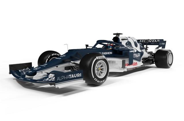 F1 2021 : La Scuderia AlphaTauri a présenté sa nouvelle Formule 1, baptisée AT02 At02-gallery7-scuderia-alphatauri