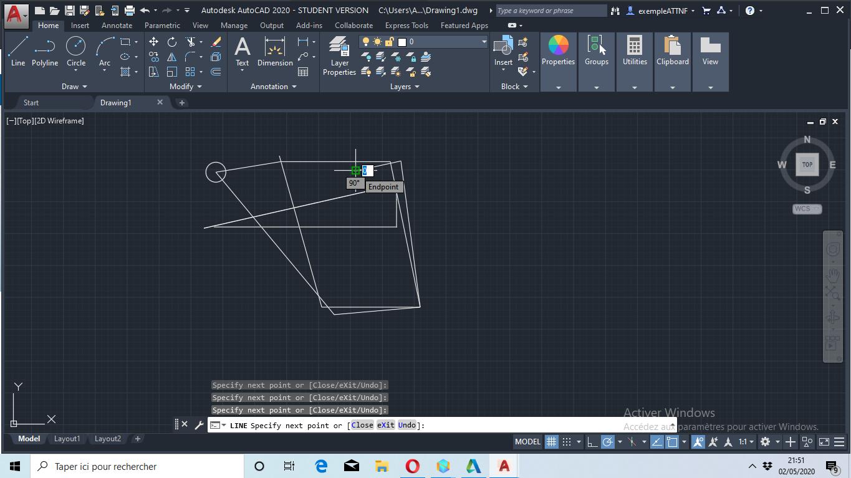 Screenshot-1-Autocad-first-creation