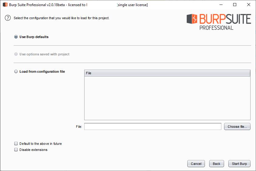 Burp Suite – Basic Usage