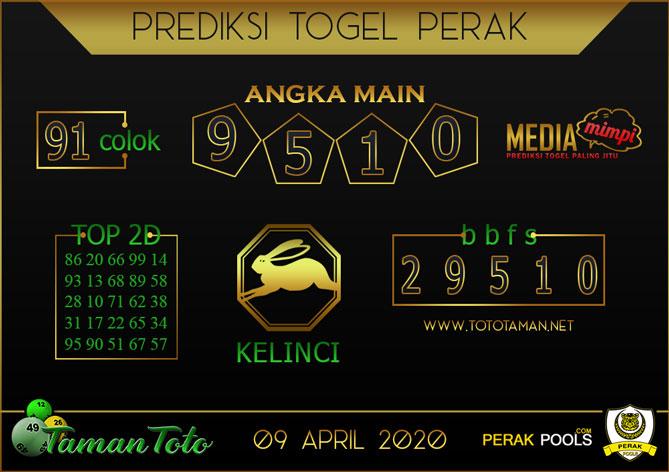 Prediksi Togel PERAK TAMAN TOTO 09 APRIL 2020