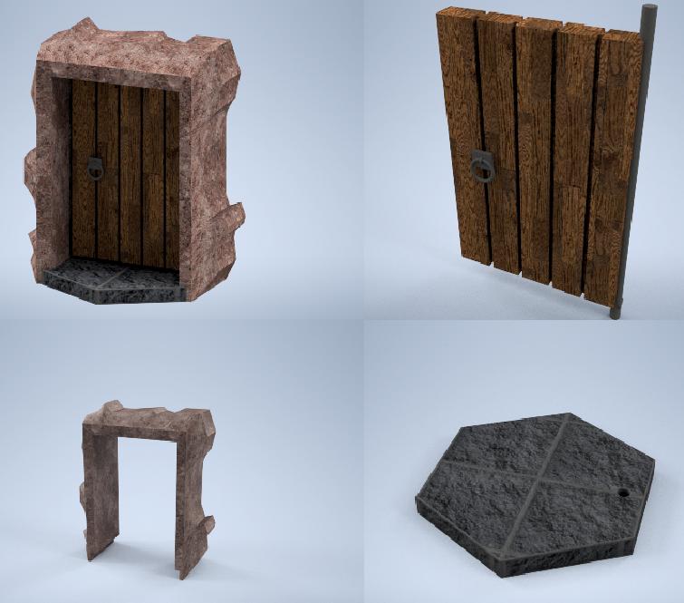 Dungeon Door Assembly