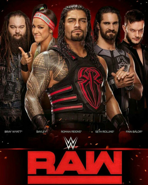 WWE Monday Night Raw (18th April 2020) 480p HDRip 400MB