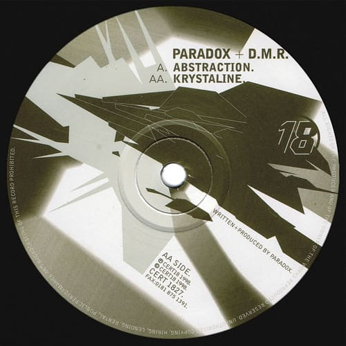Download Paradox & D.M.R. - Abstraction / Krystaline mp3
