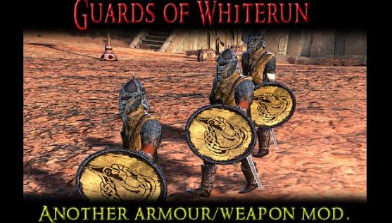Guards of Whiterun - A Skyrim Armour Mod/ Броня стражников Вайтрана