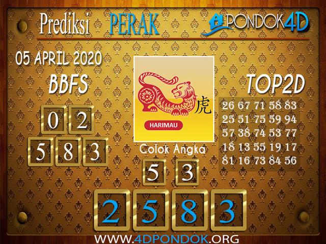 Prediksi Togel PERAK PONDOK4D 05 APRIL 2020