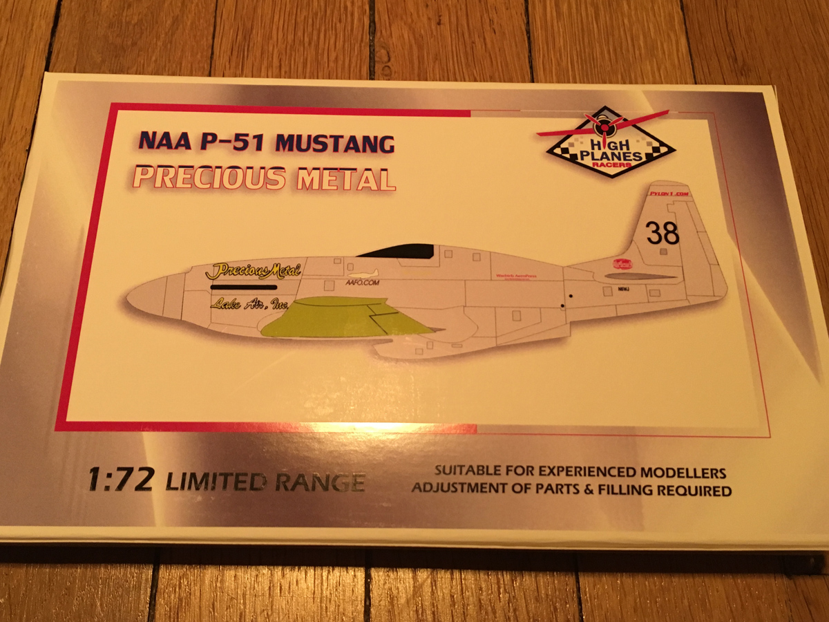 """[CONCOURS """"Ca brille""""] Mustang Racer Precious Metal - High Planes Models - 1/72 IMG-1682"""