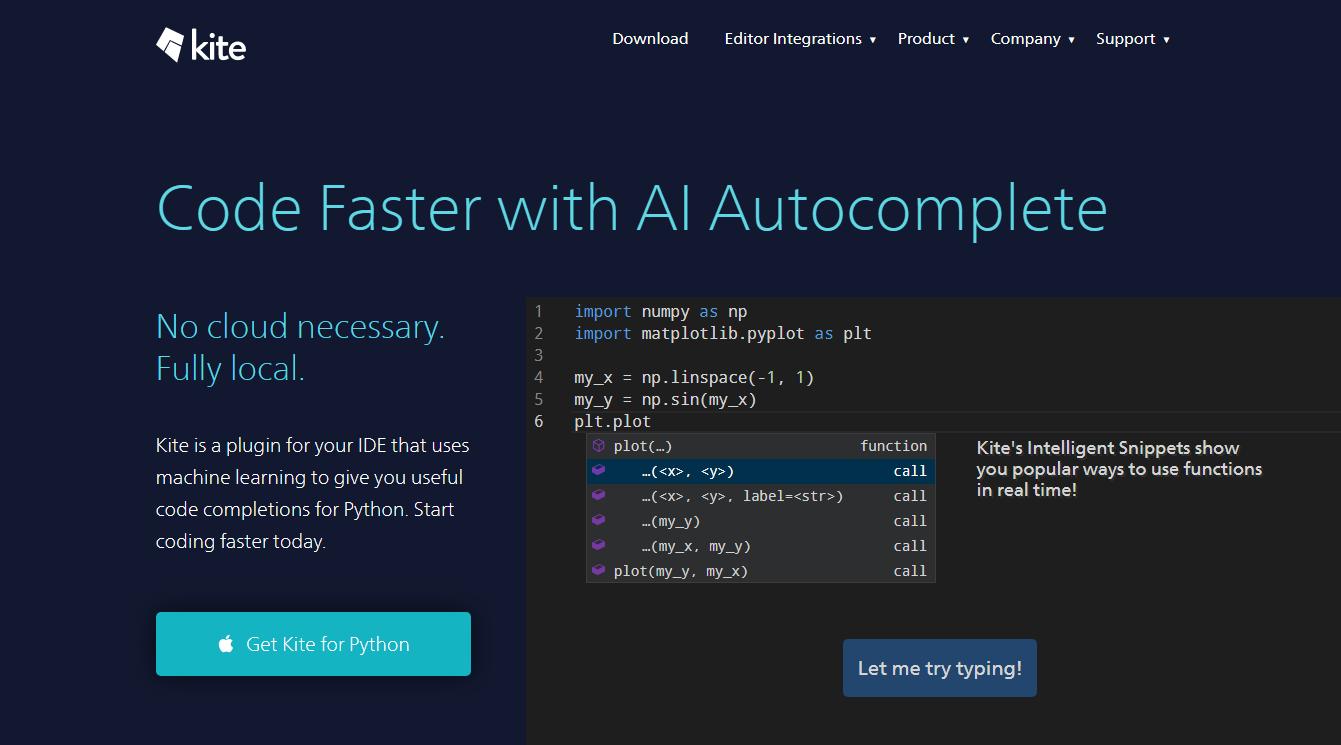 ▷ Kite: Genera tu código mucho más rápido