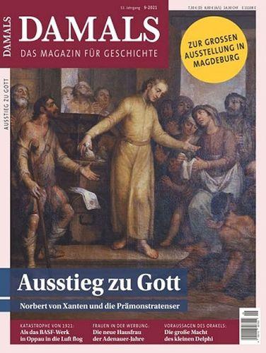 Cover: Damals Das Magazin für Geschichte September No 09 2021