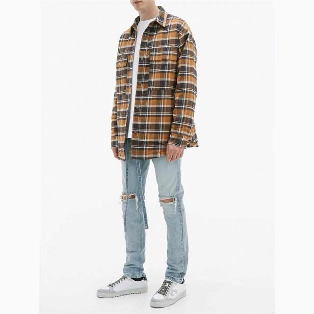 피어오브갓 6TH 플란넬 셔츠자켓
