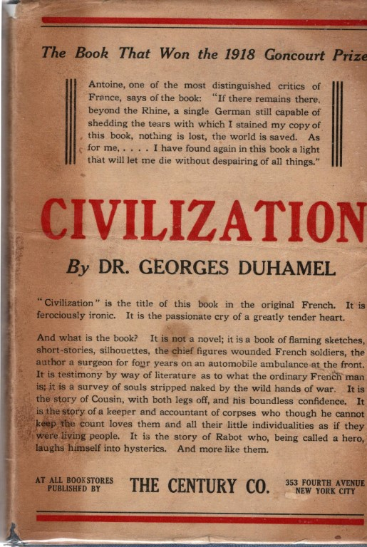 Civilization: 1914-1917, Duhamel, Georges
