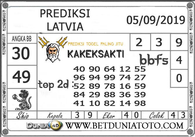 """Prediksi Togel """"LATVIA"""" DUNIA4D 06 SEPTEMBER 2019"""