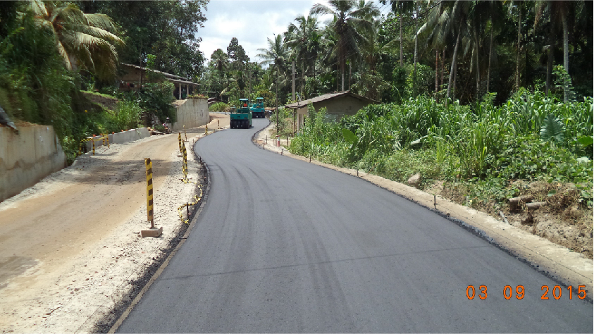 Egaloya – Ayagama Road Project