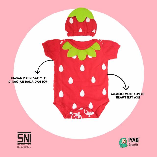 strobery iyab baju bayi setelan