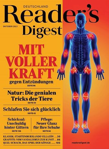 Cover: Readers Digest Magazin No 10 Oktober 2021