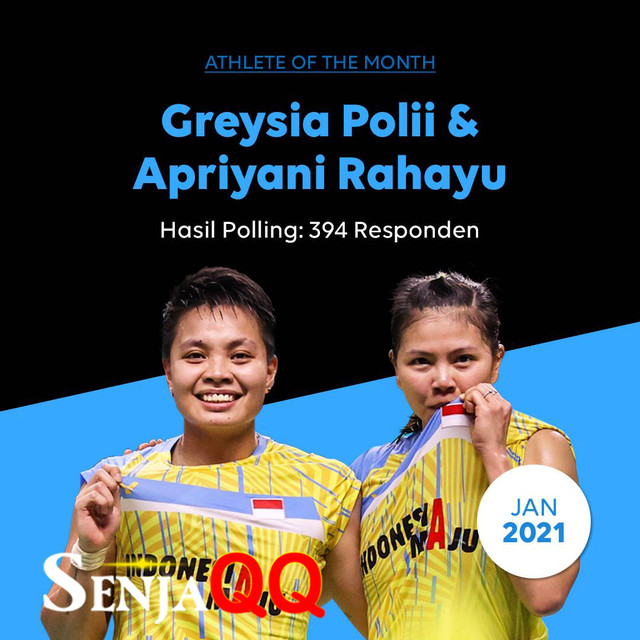 Sports Athlete of The Month (January 2021) Greysia/Apriyani