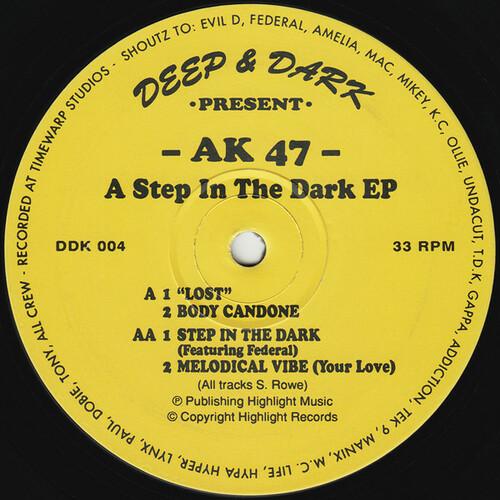 AK 47 - A Step In The Dark EP 1994