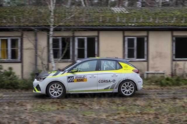 Le calendrier de l'ADAC Opel e-Rally Cup est fixé Opel-Corsa-e-Rally-513857
