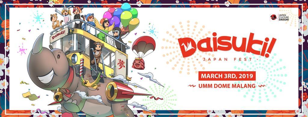 Yuk, Intip Keseruan Daisuki Japan Fest 2019 di Malang!