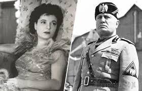 Claretta Petacci and Benito Mussolini