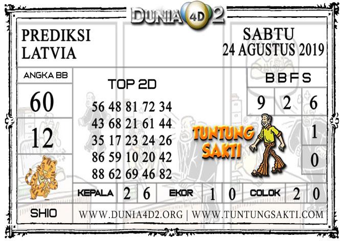 "Prediksi Togel ""LATVIA"" DUNIA4D2 24 AGUSTUS 2019"