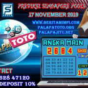 PREDIKSI TOGEL SINGAPORE PALAPATOTO 17 NOVEMBER 2019