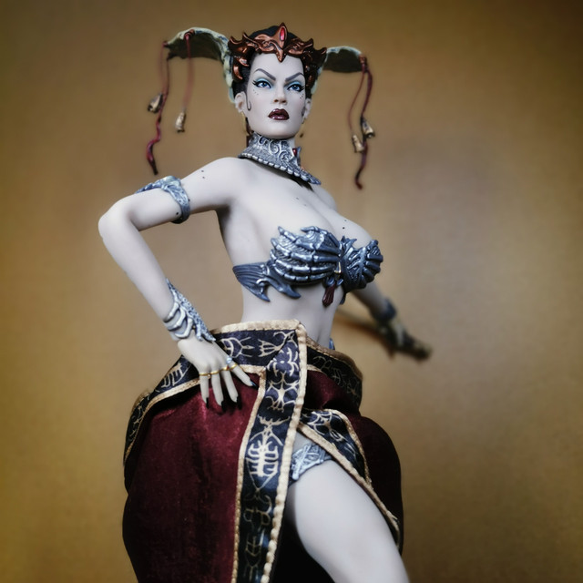 sideshow - NEW PRODUCT: Tbleague x SIDESHOW New: 1/6 Court of the Dead: Gethsemoni The Dead Queen action figure (PL2019-147) 38