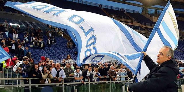 Roma 01 05 2015 La Lazio vince la Tim Cup Primavera 2015 battendo la Roma 2 a 0 il presidente Claudi