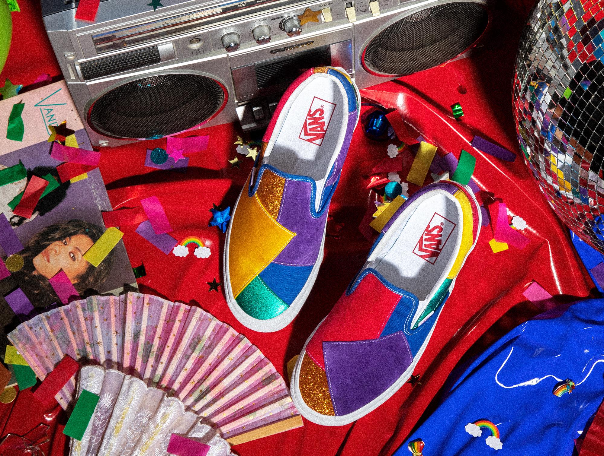 Vans, la collezione e le donazioni per il Pride Month 2021