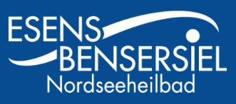 Zeigt das Kundenlogo von Esens, Deutschland