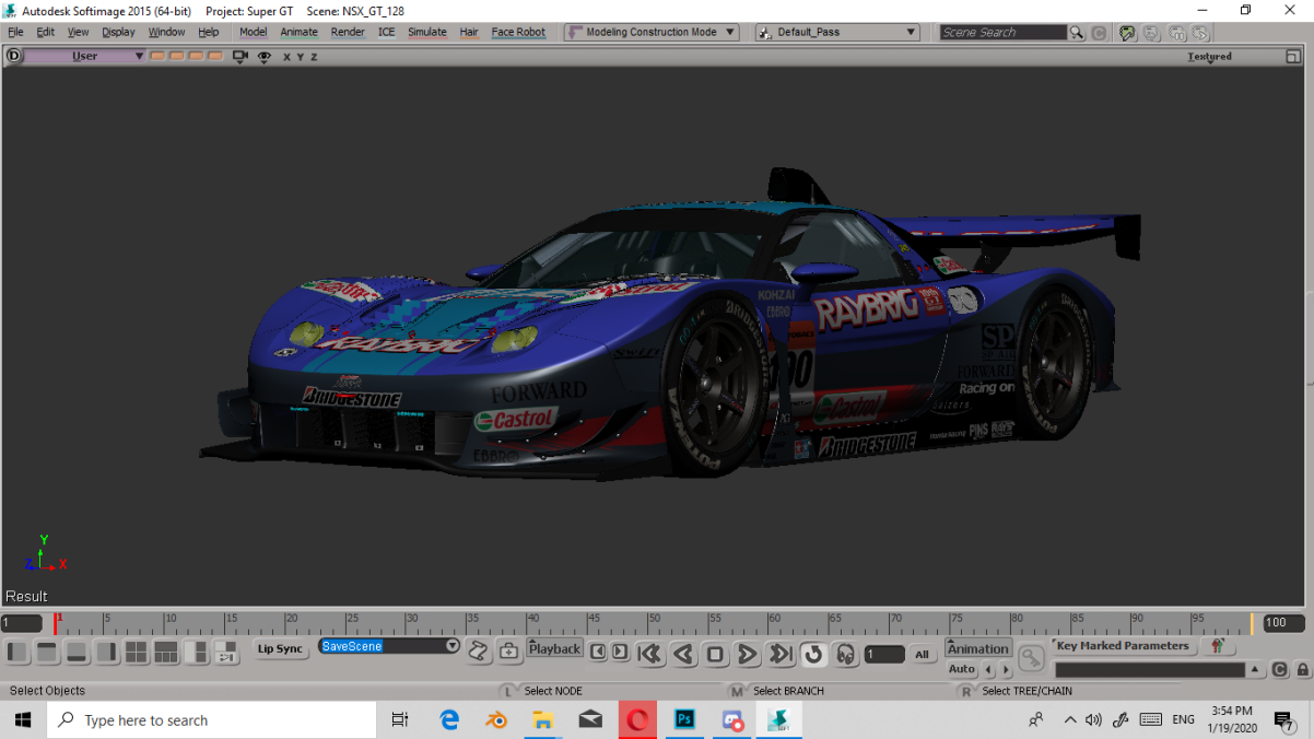 2005-2006 Super GT GT500 Series Mod Project NSX2