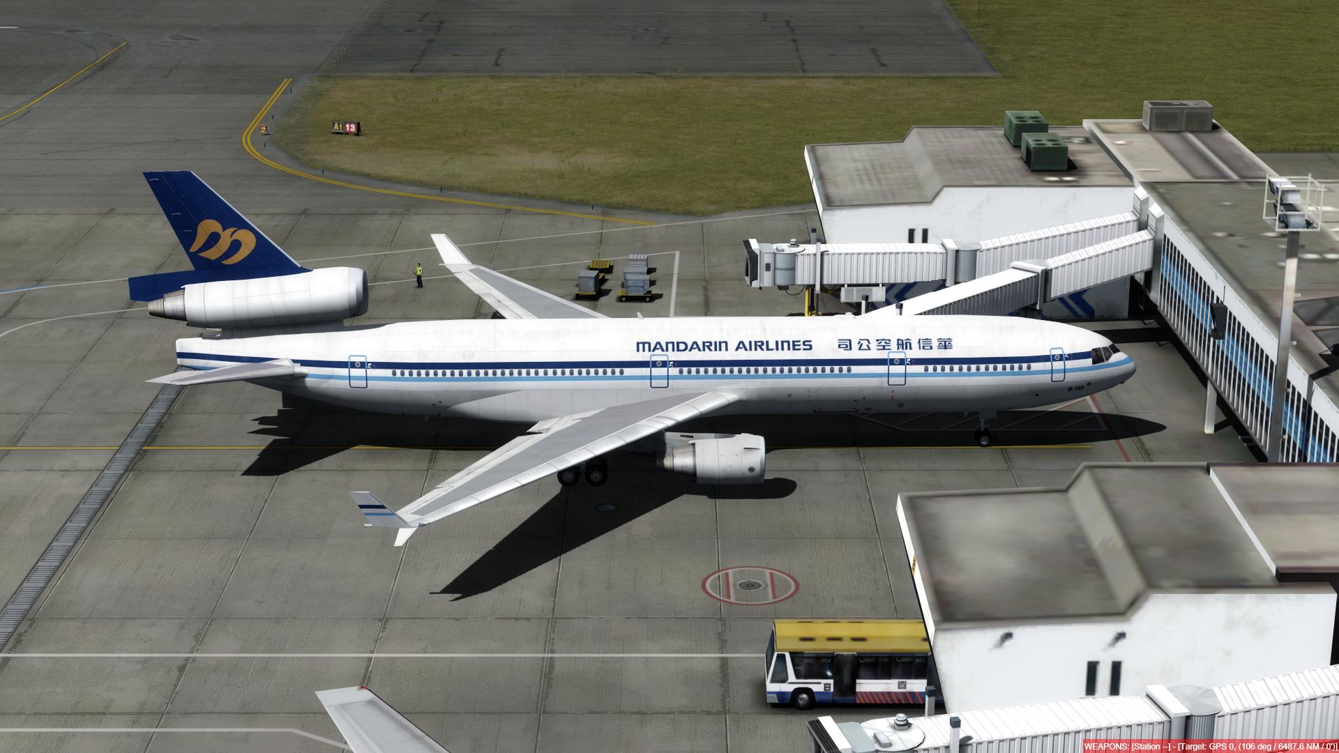 aeroporto - O dia a dia em Hong Kong Kai Tak - O aeroporto mais emocionante do mundo! P3D V4.4 - Só trafego AI. Captura-de-Tela-234