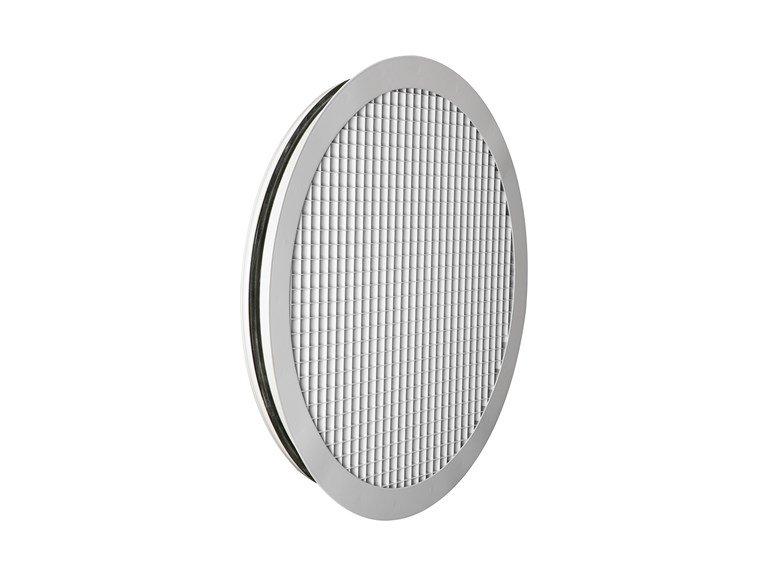 Решетка настенная/потолочная круглая GRC