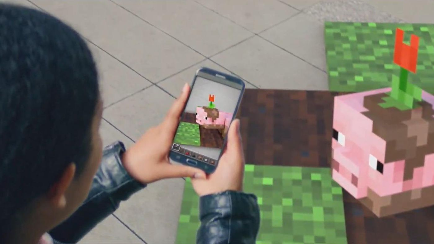 Minecraft Earth, the new free spin-off in augmented reality
