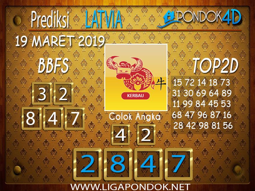 Prediksi Togel LATVIA PONDOK4D 19 MARET 2019