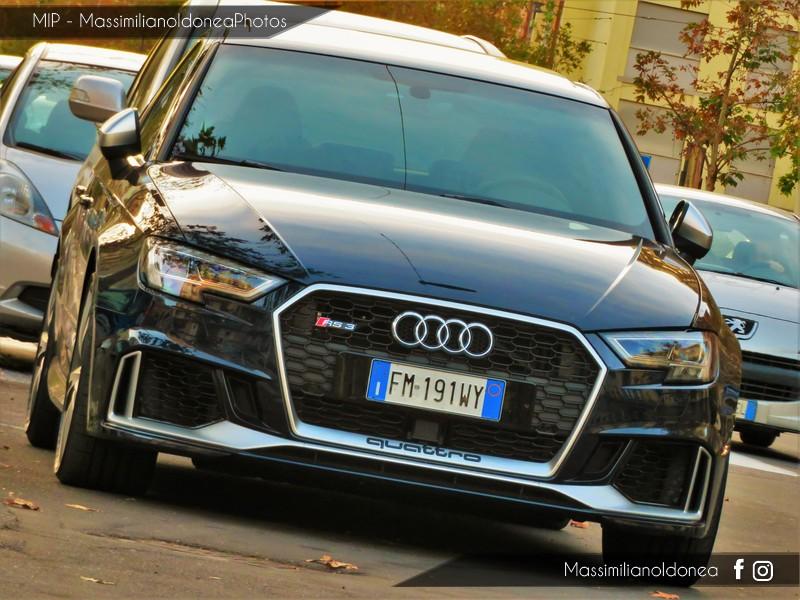Avvistamenti auto rare non ancora d'epoca - Pagina 19 Audi-RS3-Quattro-TFSI-2-5-400cv-18-FM191-WY-2