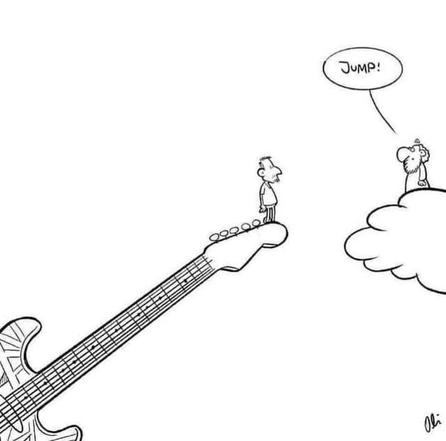 Ser baixista é... (memes, pics, etc) - Página 2 EVH