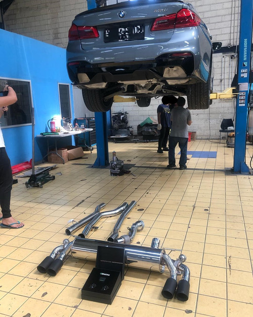 BMW M240i B58 | ARMYTRIX Valve-Controlled (Variable) Exhaust - Dyno